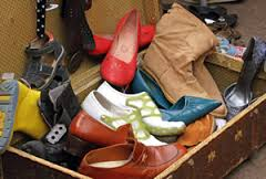 Imelda Marcos is a car boot sale devotee